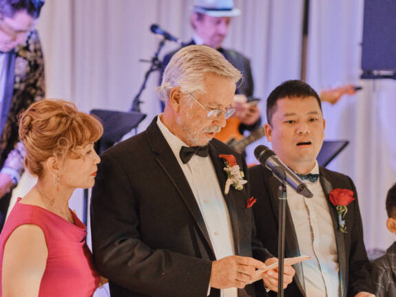 Drew + Lu Wedding in Los Angeles