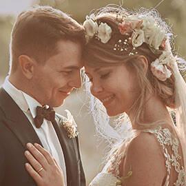 la fotografia del matrimonio